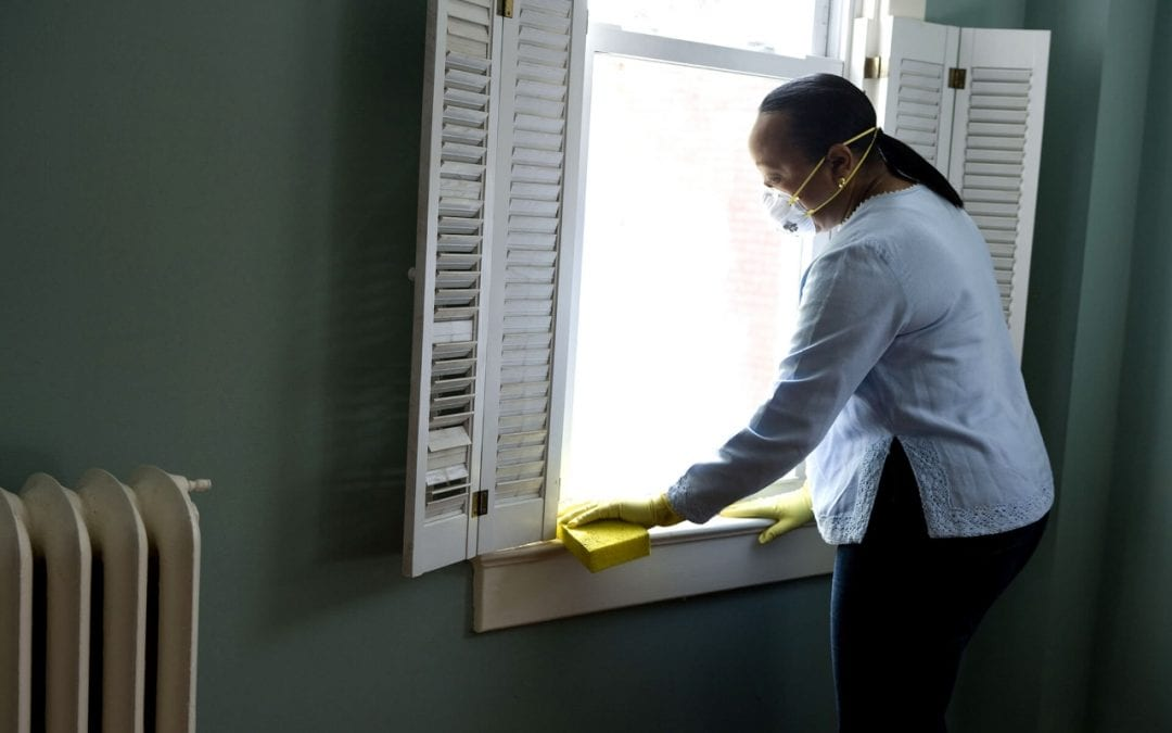 prepare for a home inspection by cleaning the house